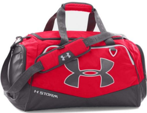 MEDIUM DUFFEL ROJO